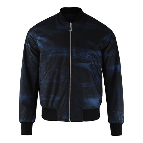 PS Paul Smith Reversible Print Bomber Jacket