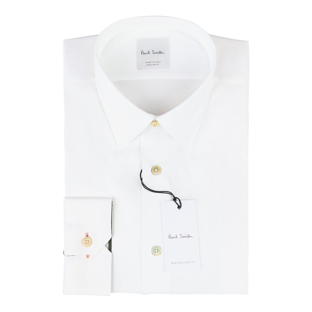 Paul Smith Gents Formal Shirt Slim White