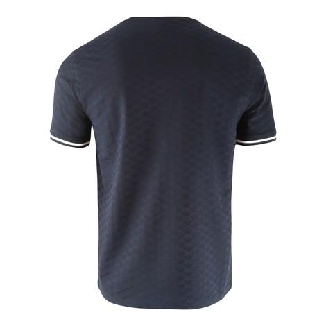 Emporio Armani Pure T-Shirt with Jacquard Logo