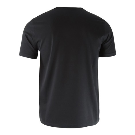 Emporio Armani Cotton T-Shirt with Embroidered Logo