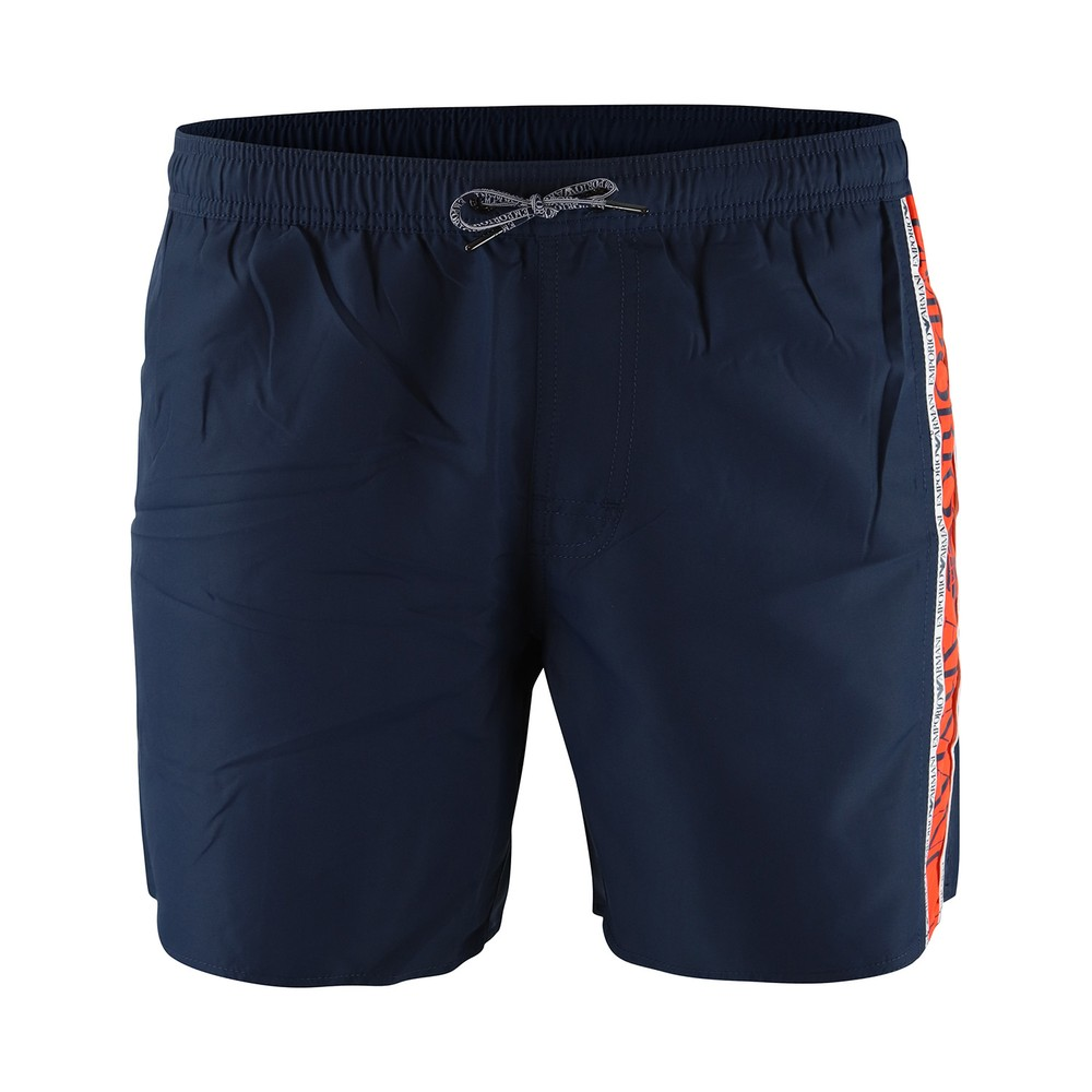 Emporio Armani Tape Swim Shorts Navy