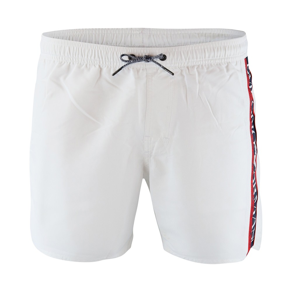 Emporio Armani Boxer Beachwear - Mid Boxer White