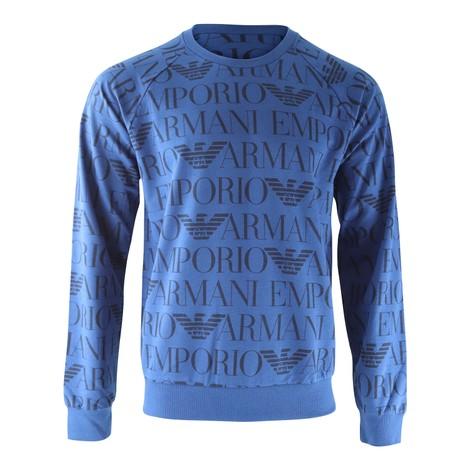 Emporio Armani Crew Neck Long Sleeve Sweater