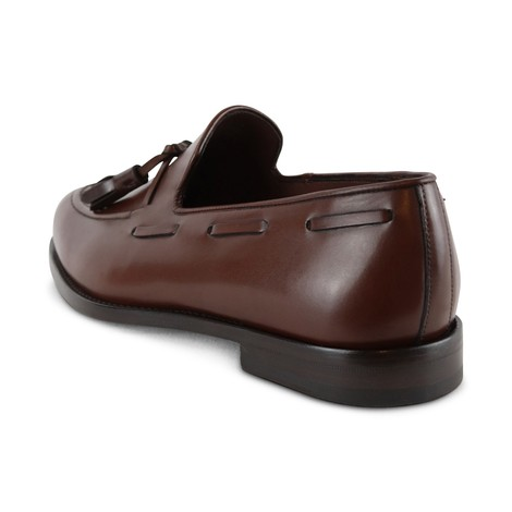 Paul Smith Larry Dark Brown Cow Loafer