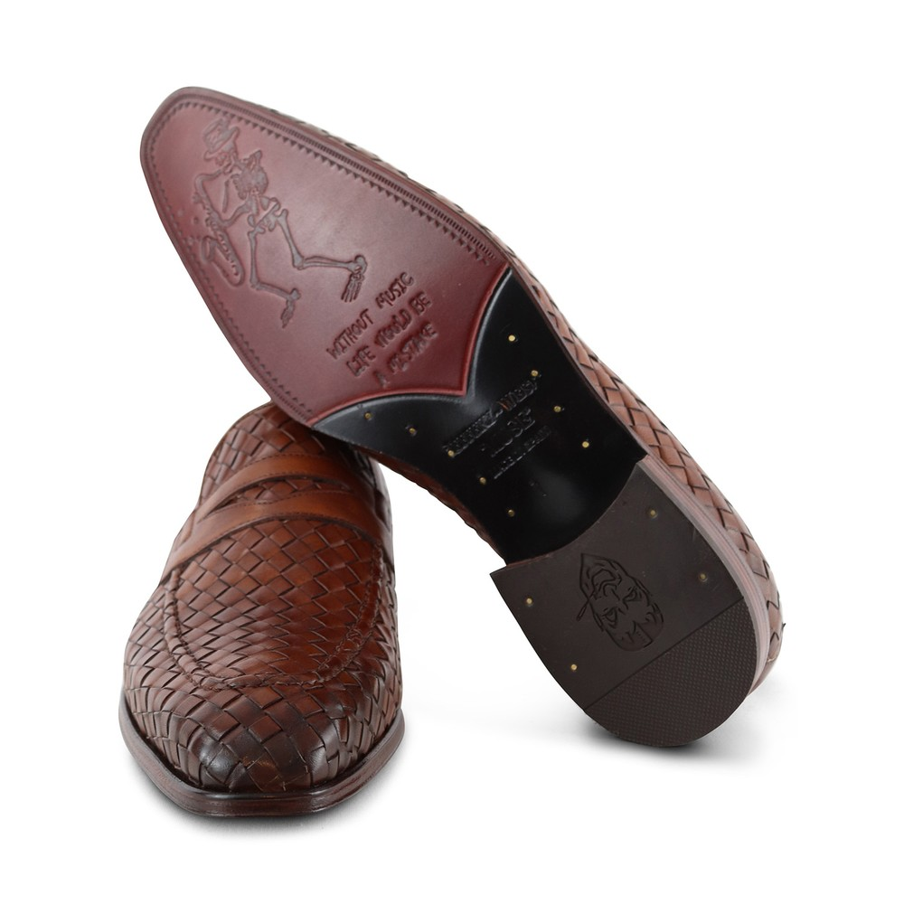 Jeffery West Soprano - Castano Leather Loafer Castano