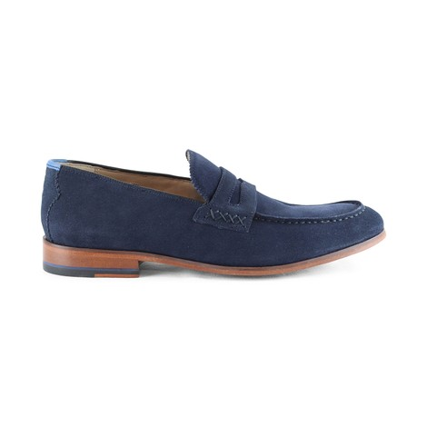 Oliver Sweeney Longbridge Loafer Navy Shoe