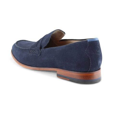 Oliver Sweeney Longbridge Loafer Navy Shoe