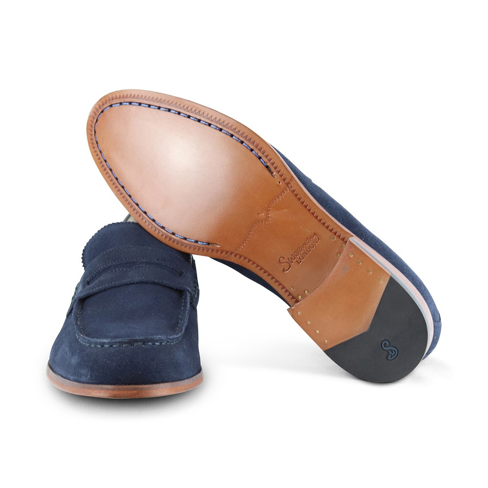 Oliver Sweeney Longbridge Loafer Navy Shoe Navy