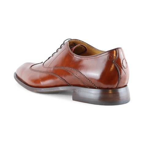 Oliver Sweeney Alassio Tan Lace Up Shoe