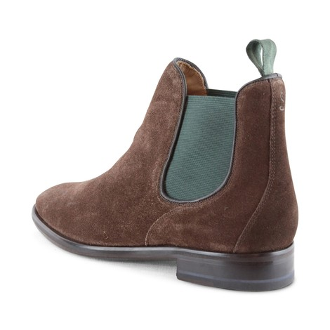 Oliver Sweeney Allegro Chocolate Chelsea Suede Boot