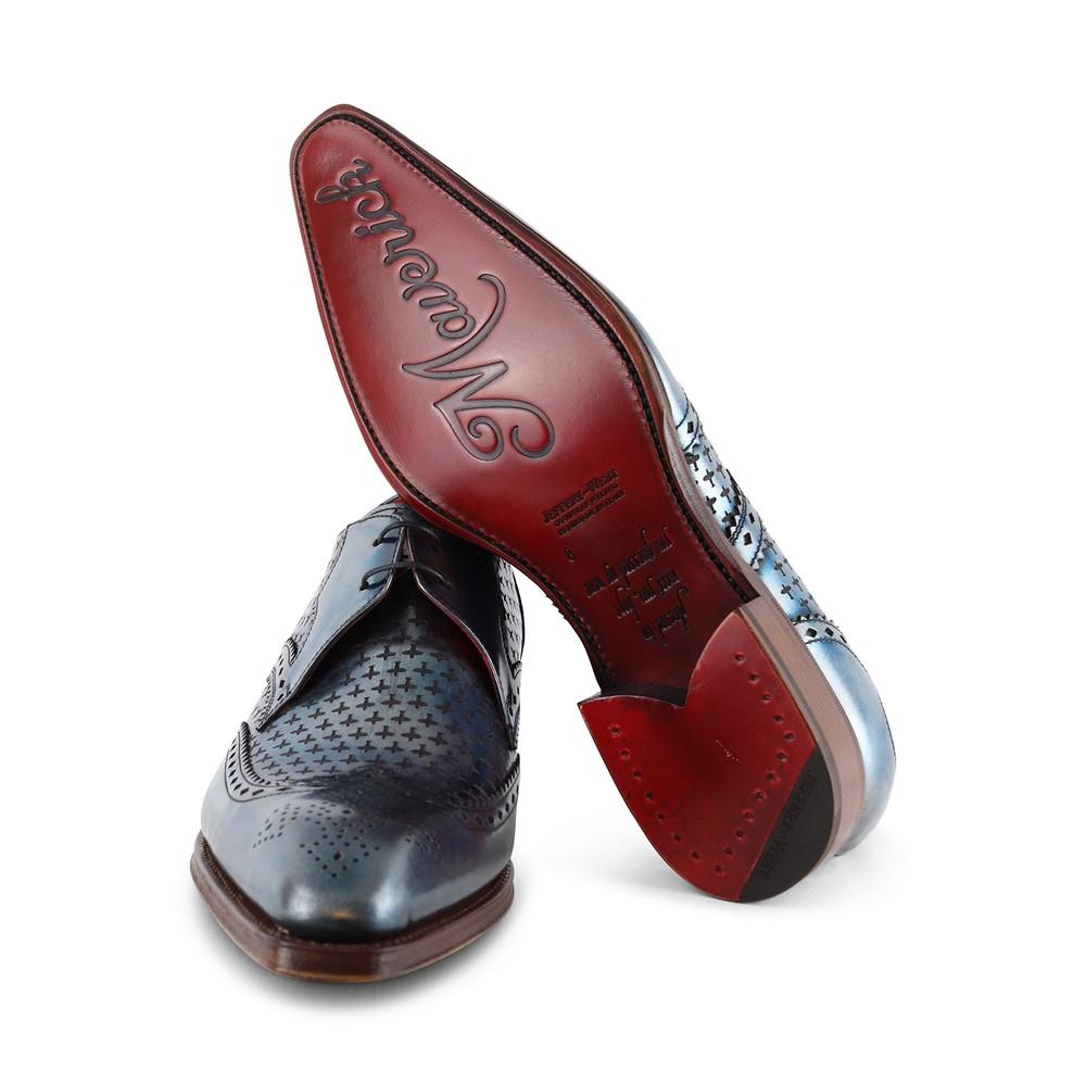 Jeffery West Squadron Shoe - Black & Navy Navy/Black