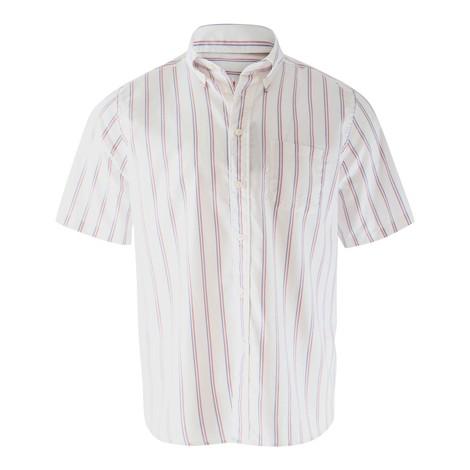 Eton Striped Short Sleeve Shirt