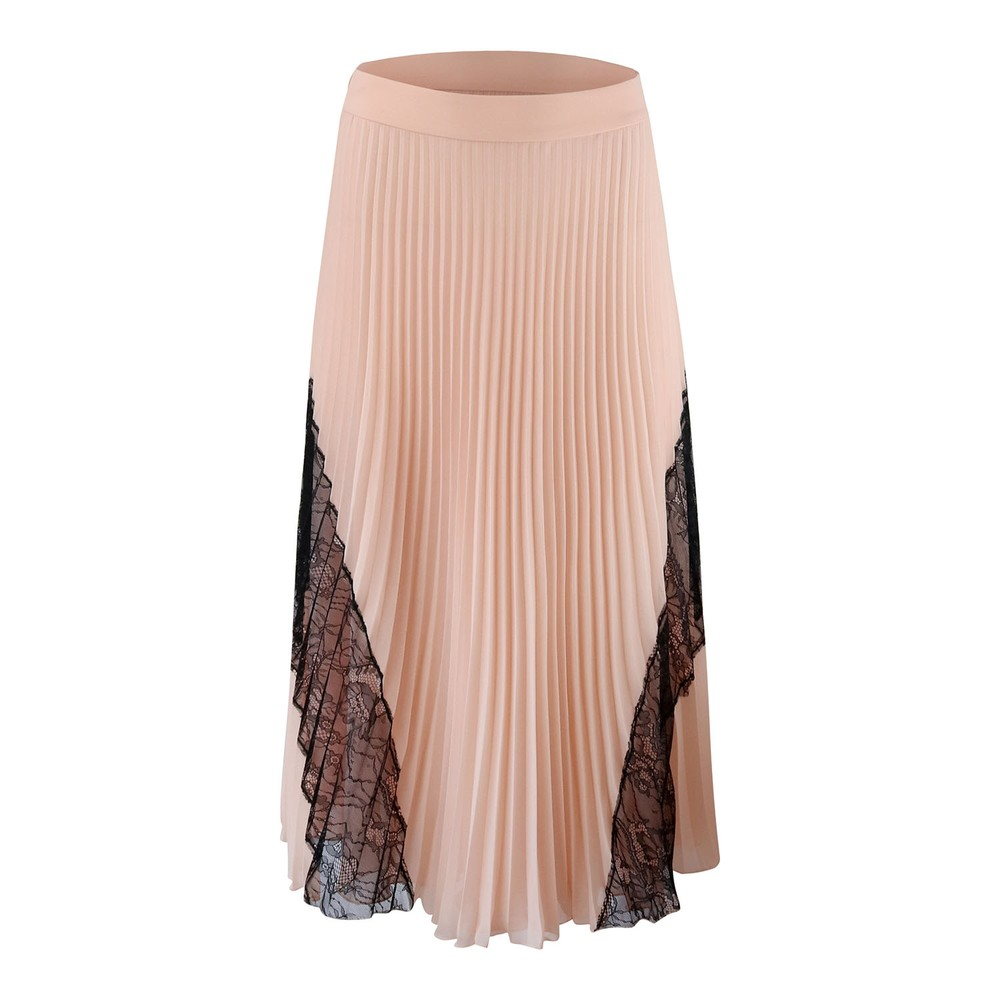 Moschino Boutique Pleated Skirt Blush