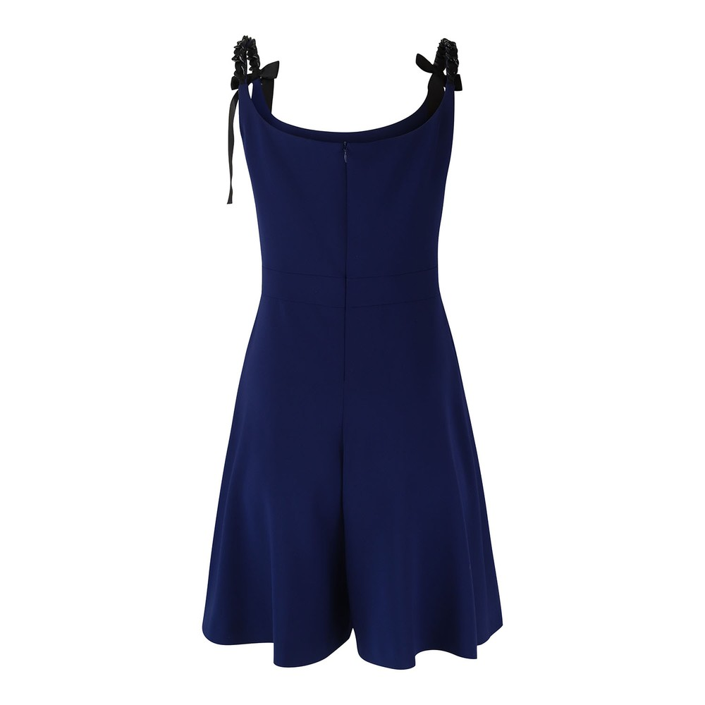 Moschino Boutique Strappy Playsuit Blue