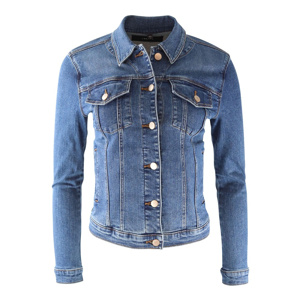 J Brand Slim Denim Jacket in Rapture Denim