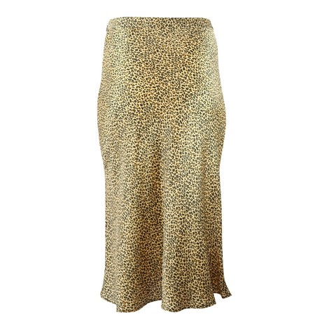 Set Midi Leopard Print Skirt