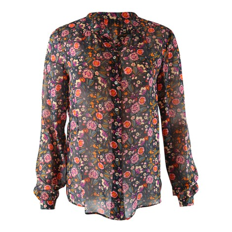 Set Floral Print Blouse
