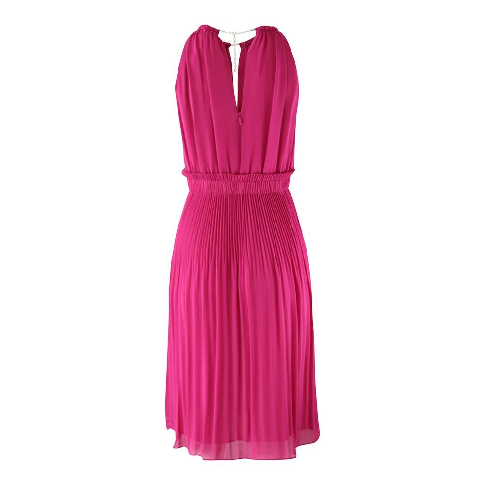 Michael Kors Chain Midi Dress Pink