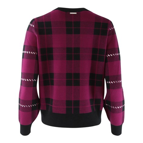 Michael Kors Check Studded Sweatshirt