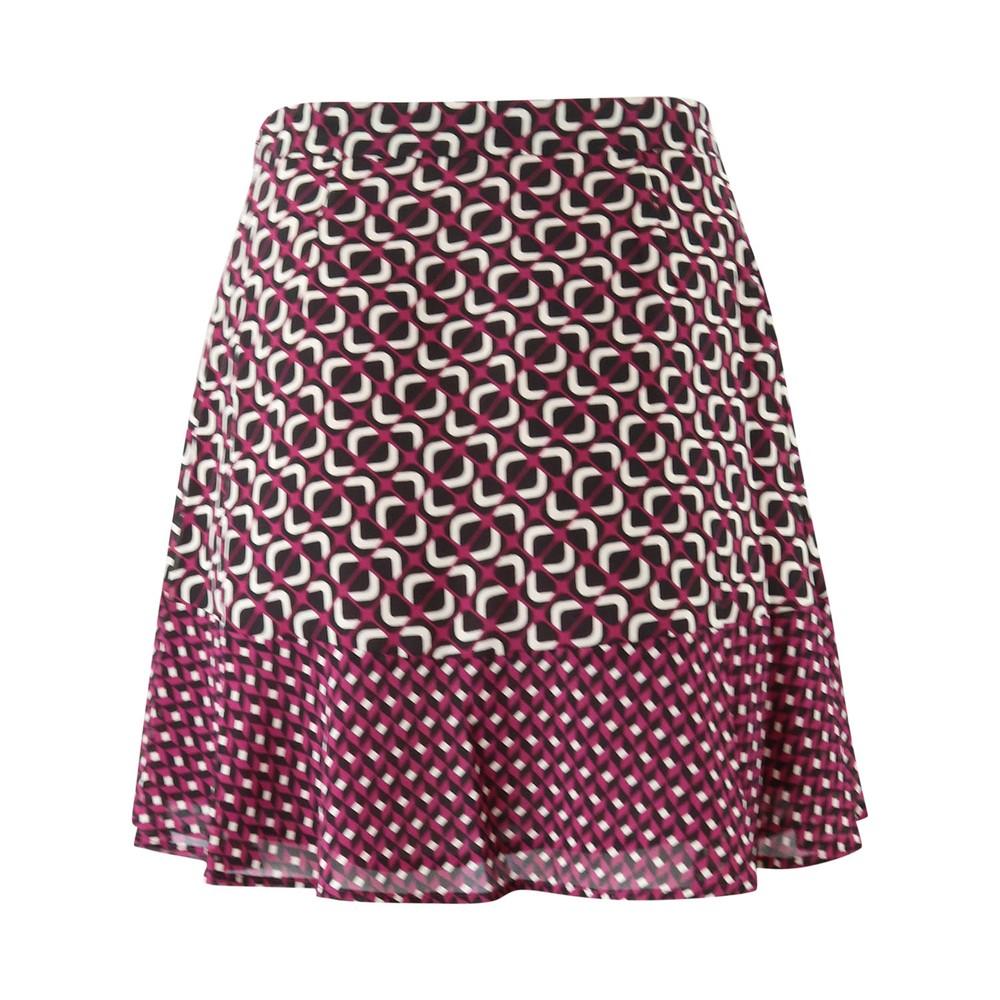 Michael Kors Patterned Mini Skirt Multi