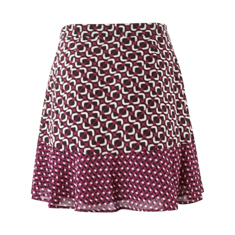 Michael Kors Patterned Mini Skirt