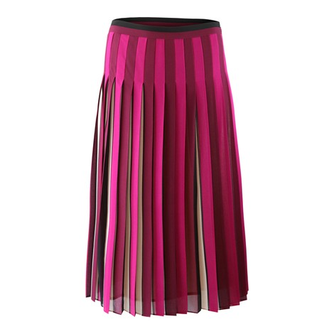 Michael Kors Midi Pleated Skirt