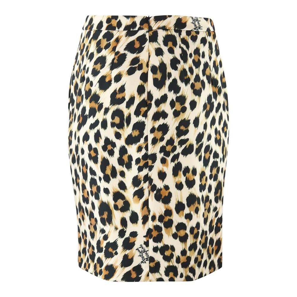 Moschino Boutique Animal Print Skirt Animal Print