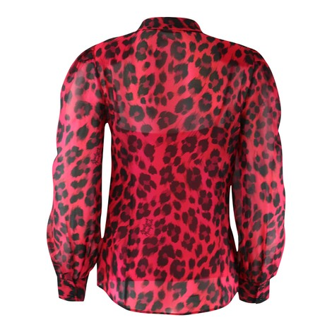 Moschino Boutique Animal Print Blouse