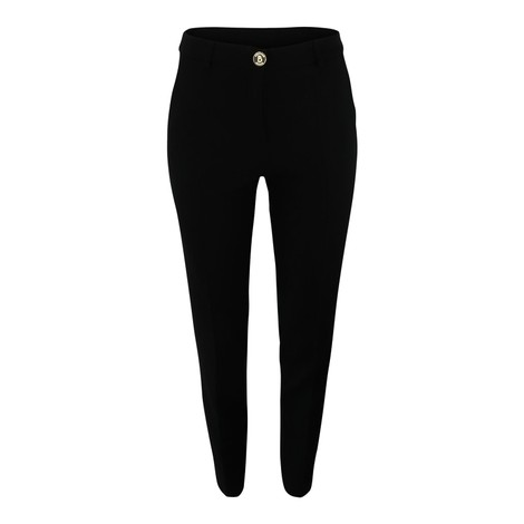 Moschino Boutique Straight Leg Trouser in Black