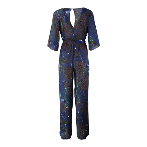 Pyrus Viola Printed Jump Suit