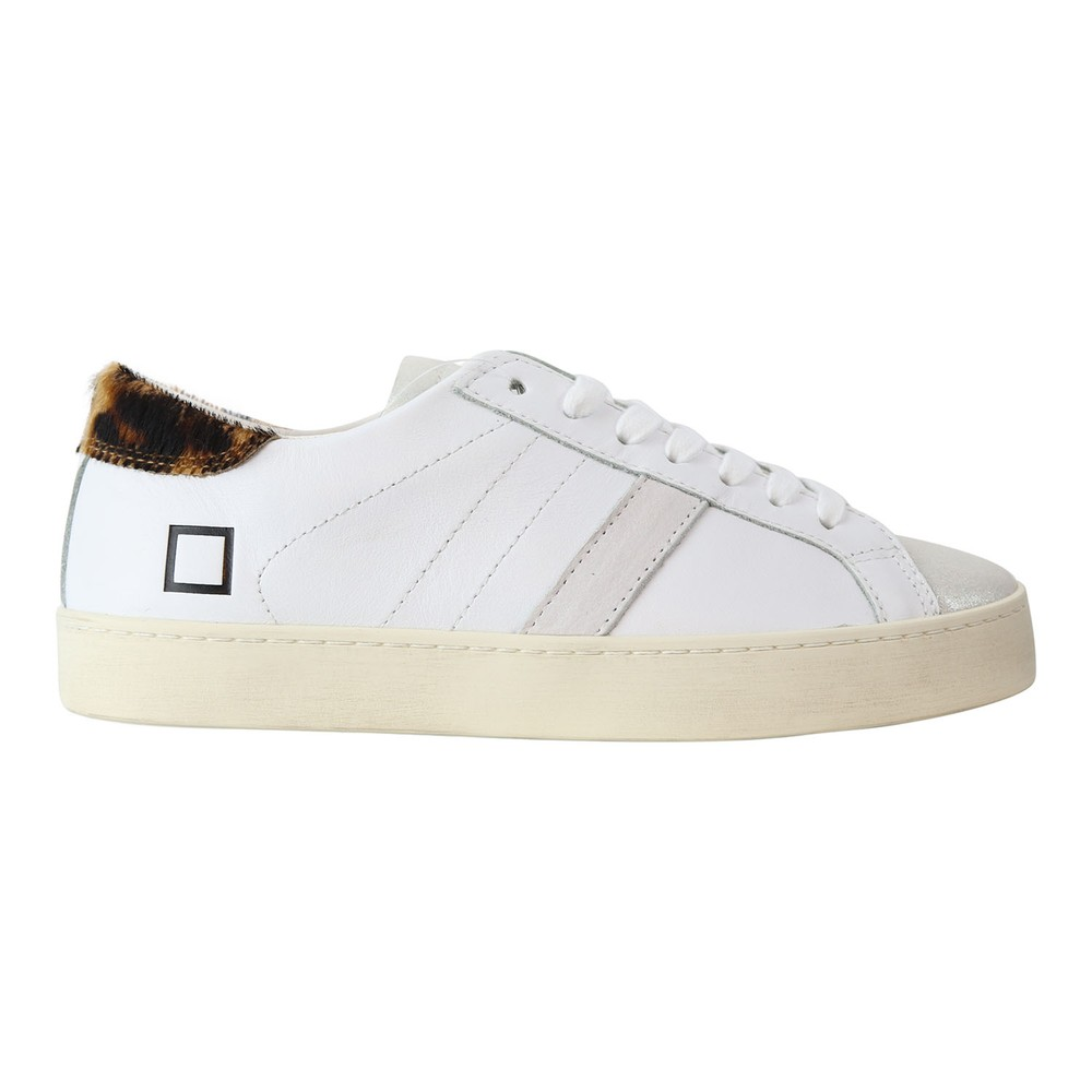D.A.T.E. Hill Low Pop Trainer White