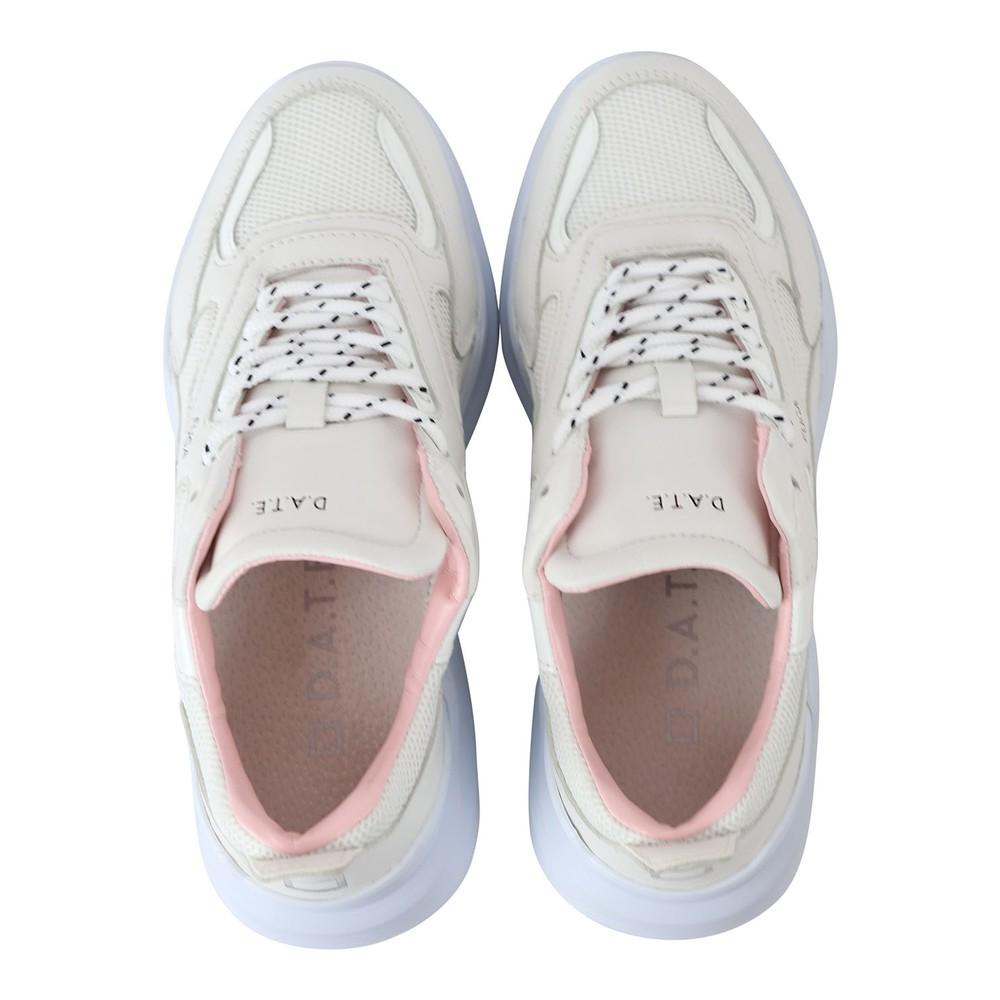 D.A.T.E. Fuga Napa Trainers White