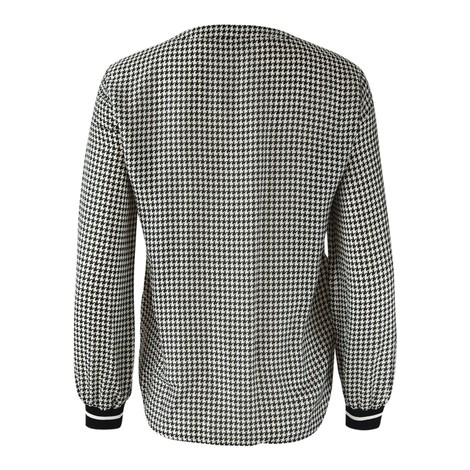 Set Houndstooth blouse