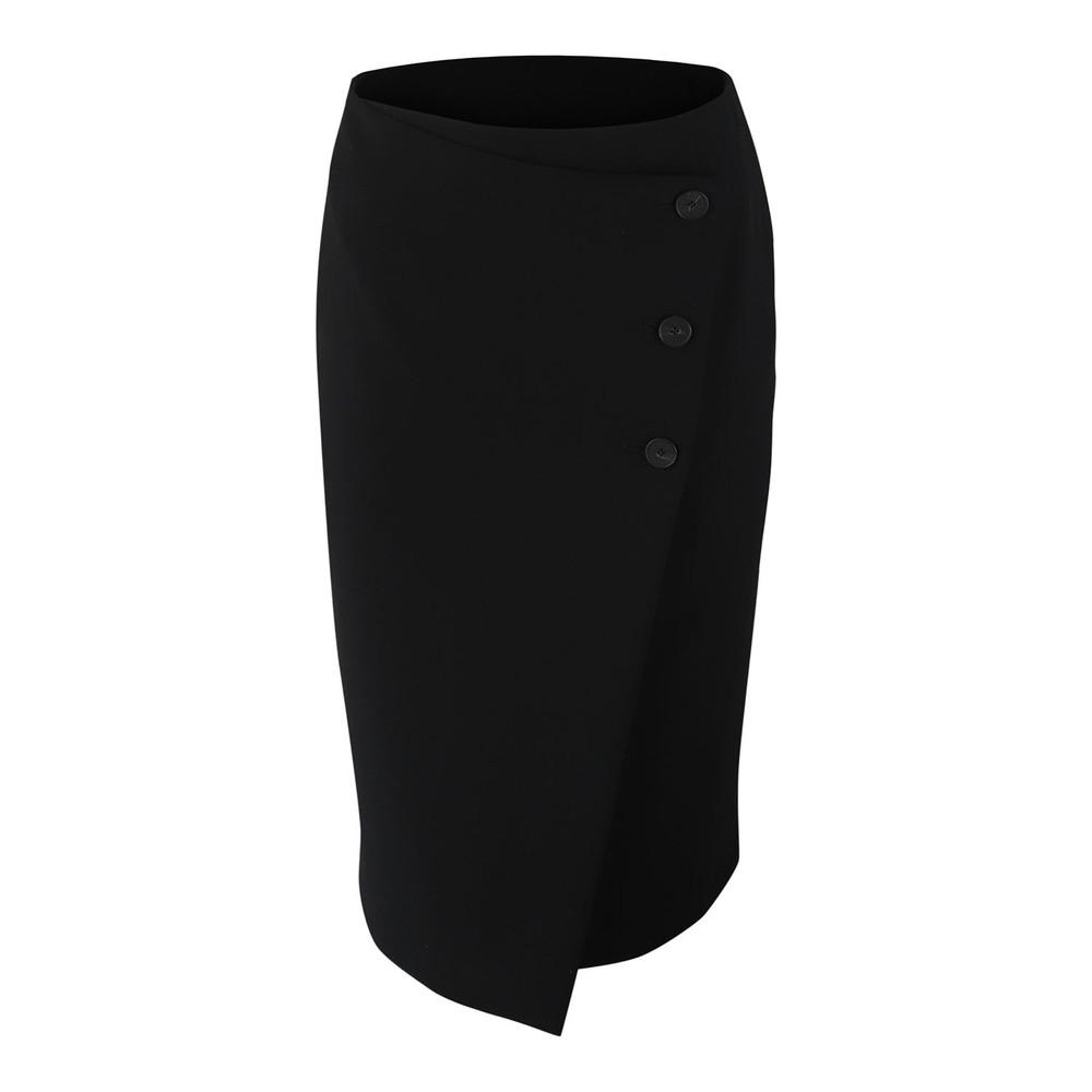Set Highwaist skirt with buttons Black