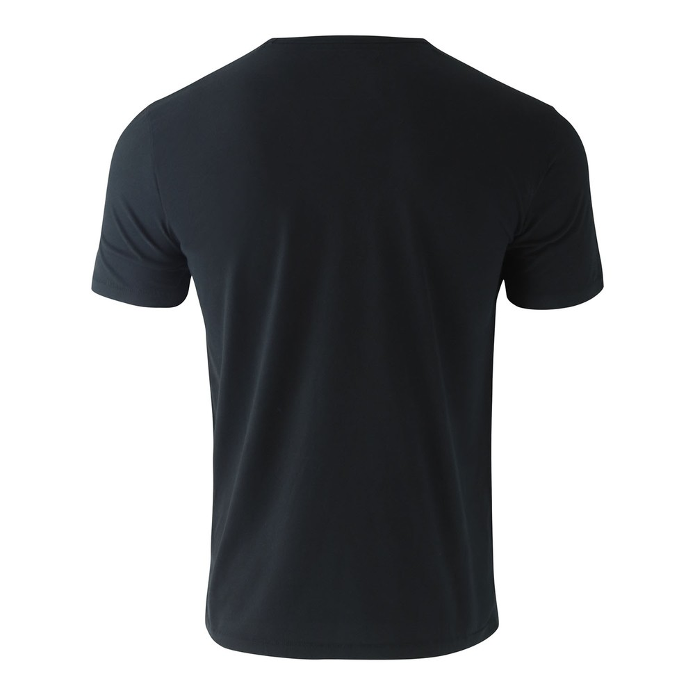 True Religion Crew T-Shirt Metal Horseshoe Black