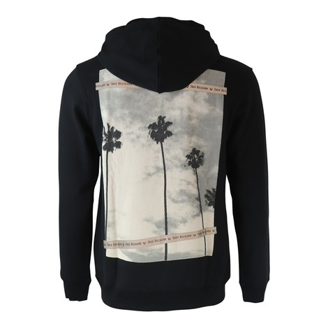 True Religion LS Palm Tree Photo PLVR Hoodie